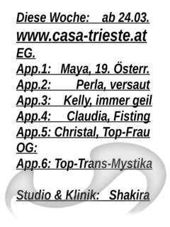 Laufhaus Casa Trieste, Laufhaus | Laufhäuser in Graz